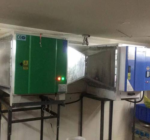 重庆厨房油烟净化器案例