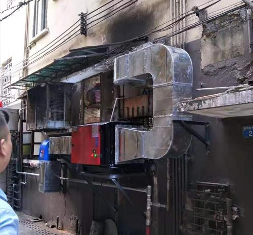 重庆厨房油烟净化器案例展示