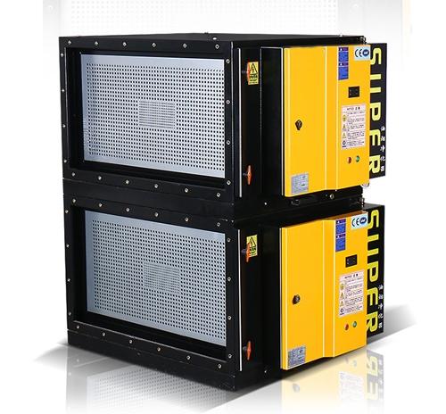 环保低空直排8000风量油烟净化器(黄蜂系列)